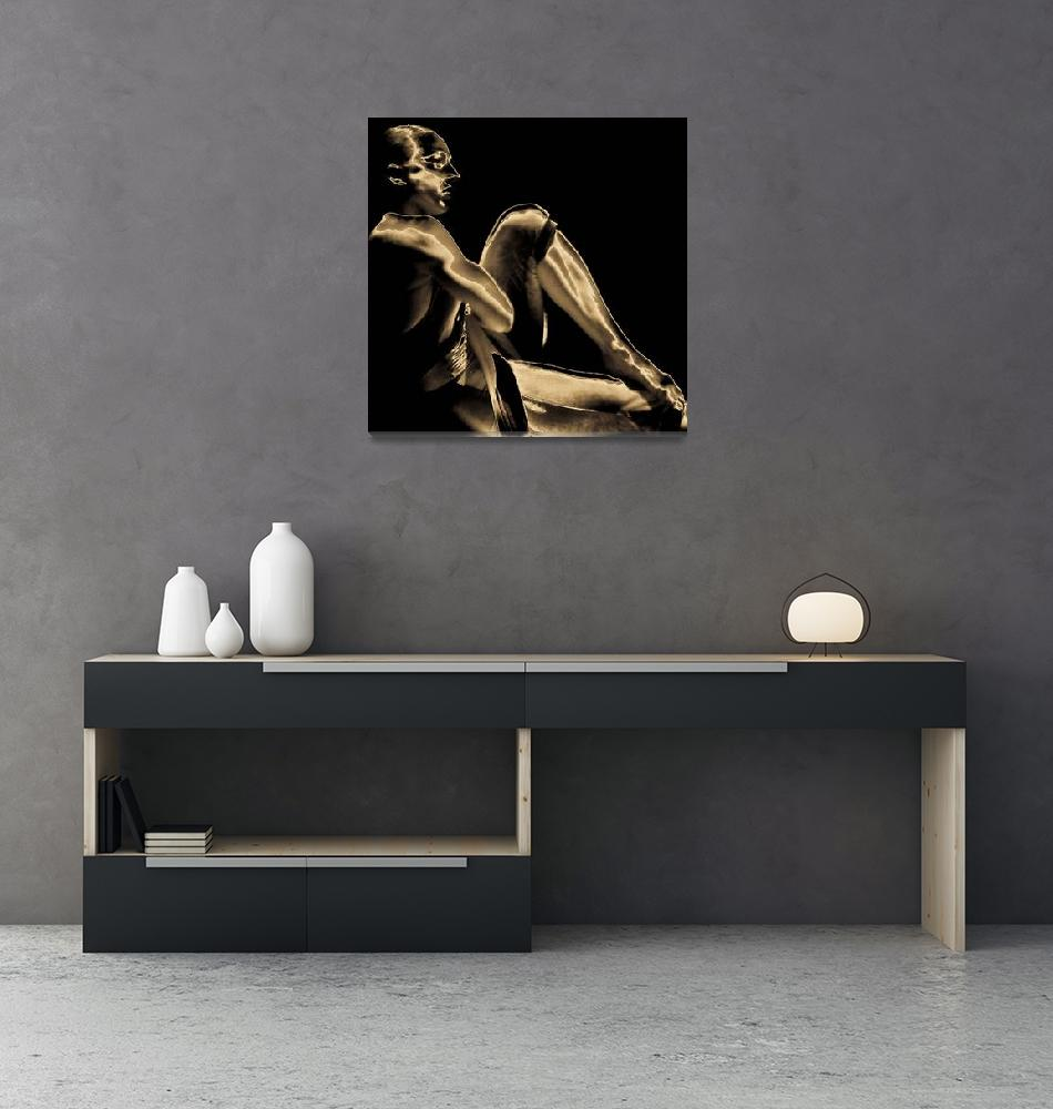 """Dancer #1""  (2004) by PeterHo"