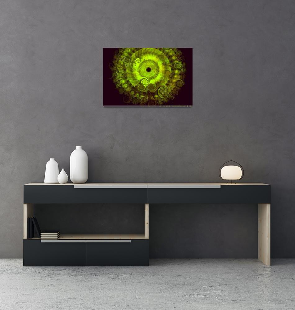 """""""Chartreuse Sunshield""""  (2011) by AnnStretton"""