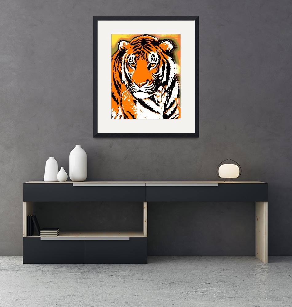 """""""TIGER-3 (LARGE)""""  by thegriffinpassant"""