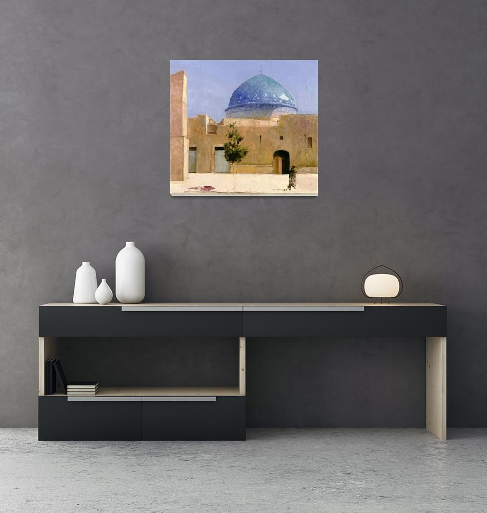 """""""Il-Khanid tomb, Yazd""""  by fineartmasters"""