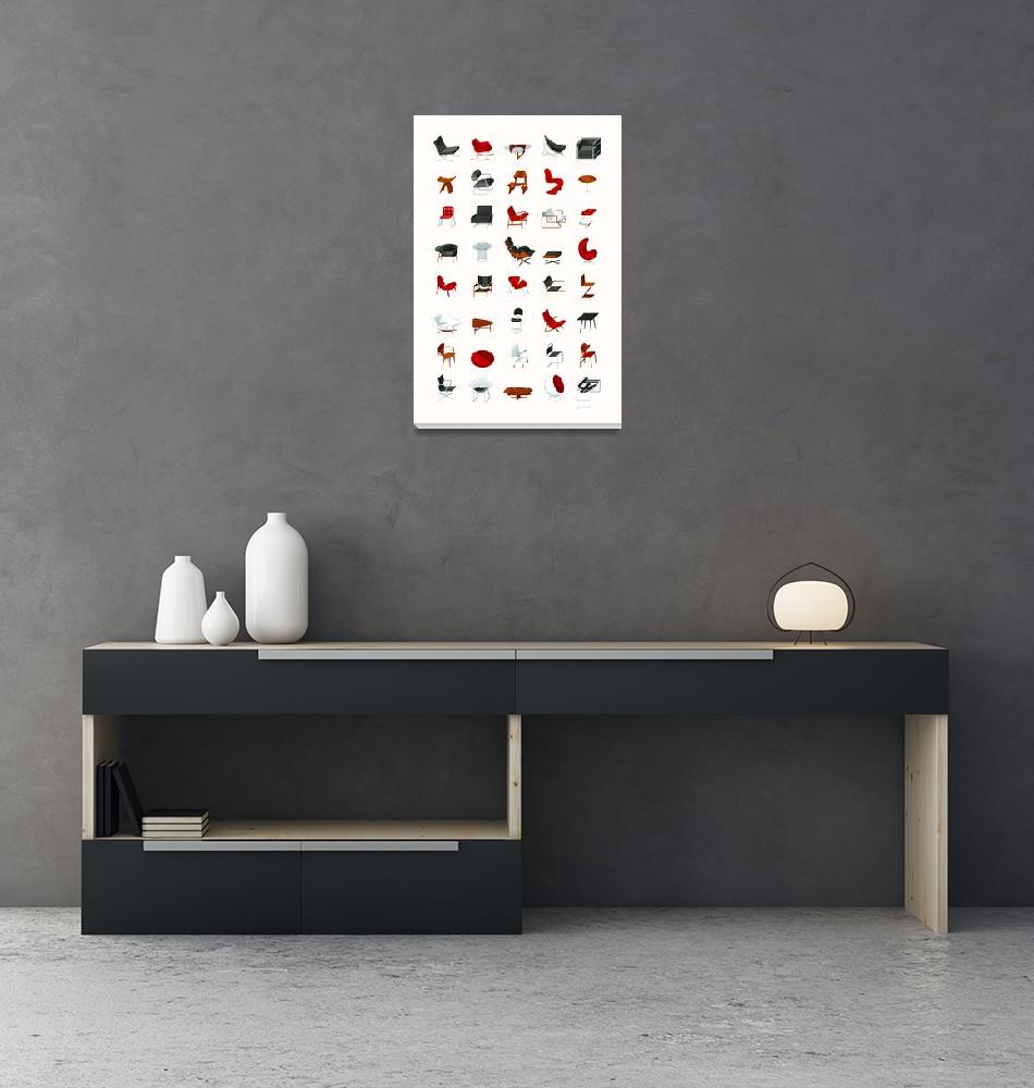 """""""Mid-Century Modern Collection (Neutral)""""  (2009) by jamesprovost"""