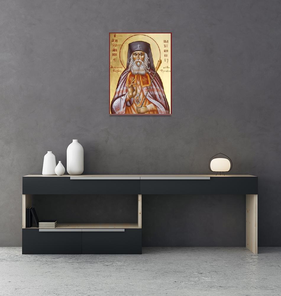 """St John of Shanghai and San Francicso II""  (2009) by ikonographics"