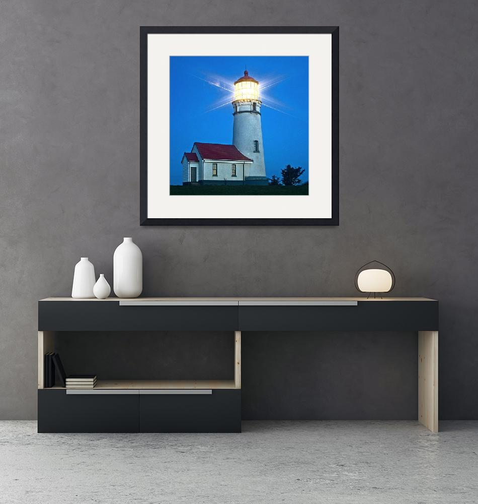 """""""Cape Blanco Lighthouse""""  (2007) by aphimages"""