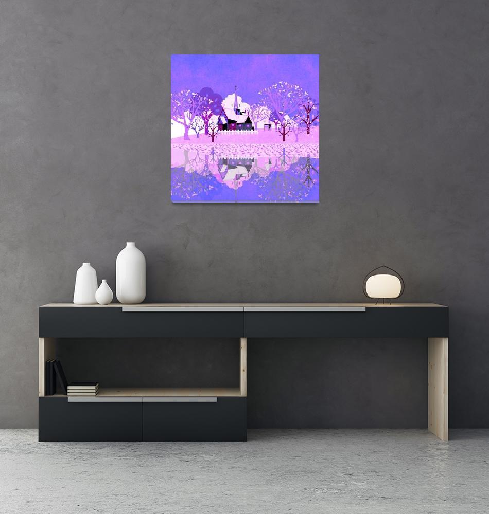 """Norway - Landscape 125""  (2019) by Design4uStudio"