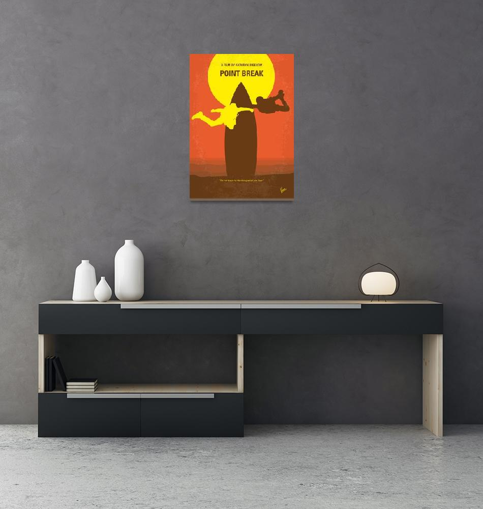 """""""No455 My Point Break minimal movie poster""""  by Chungkong"""