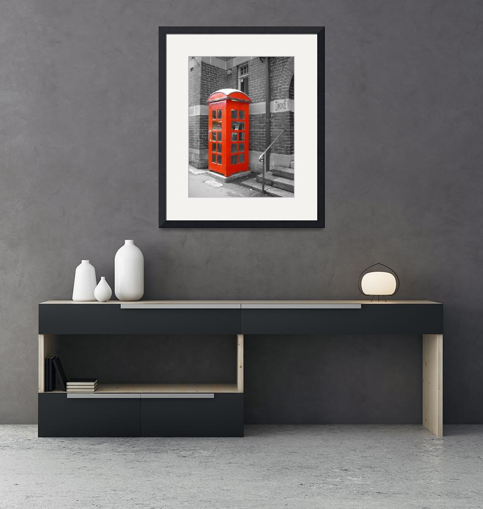 """The Telephone Box""  (2010) by Impression"