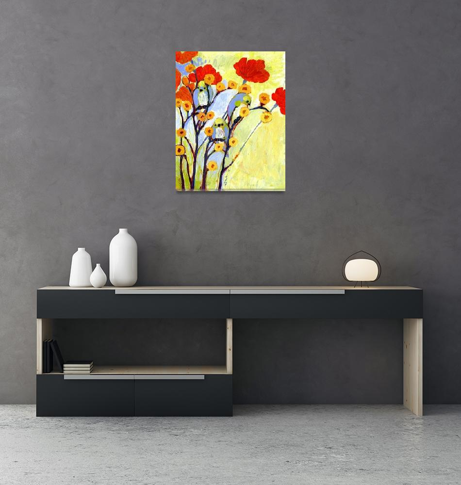 """""""Under the Poppies"""" (2011) by JENLO"""
