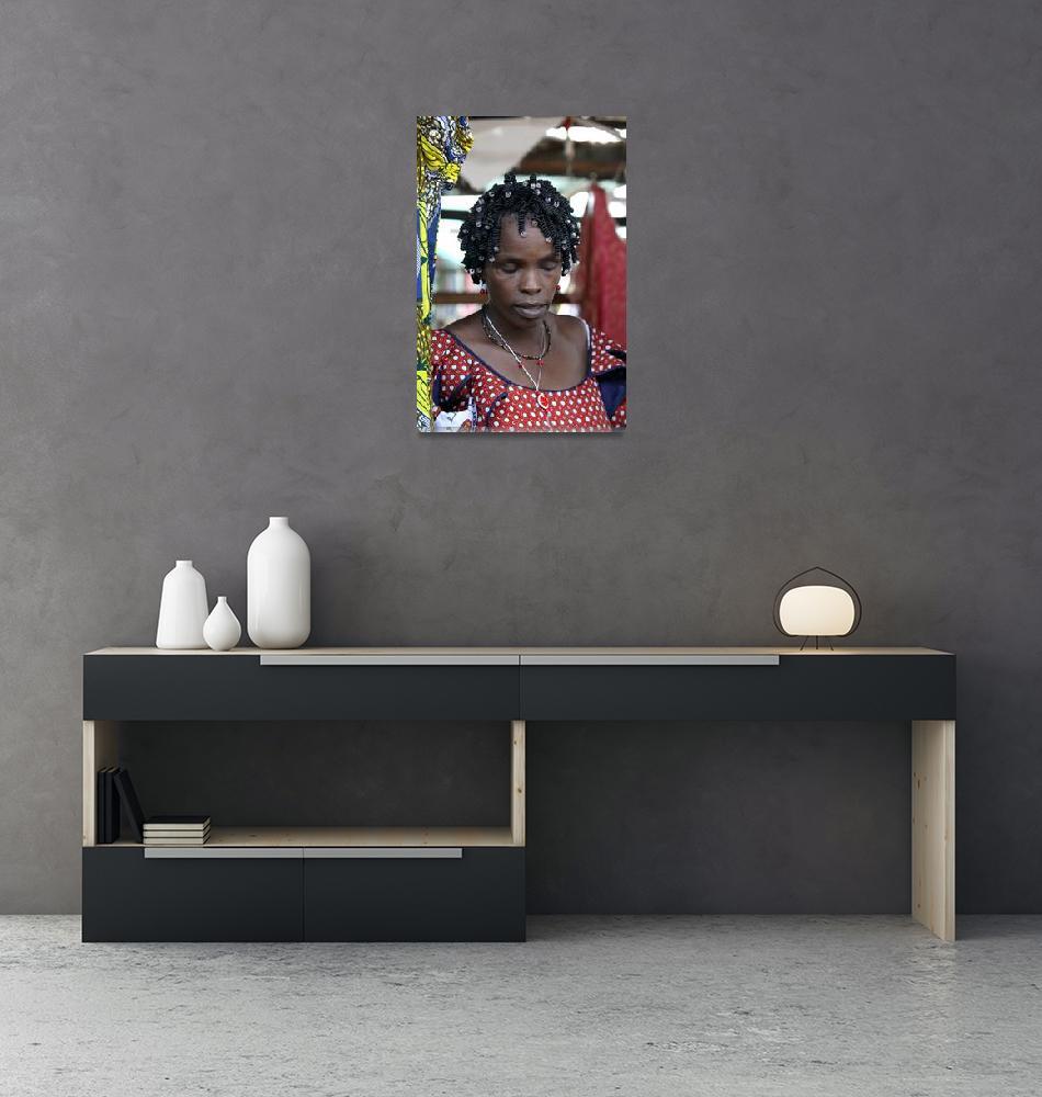 """Brazzaville - its women""  by andreea_gerendy"