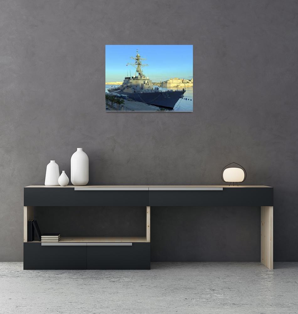 """USS Barry (DDG 52)""  (2009) by goatlockerguns"