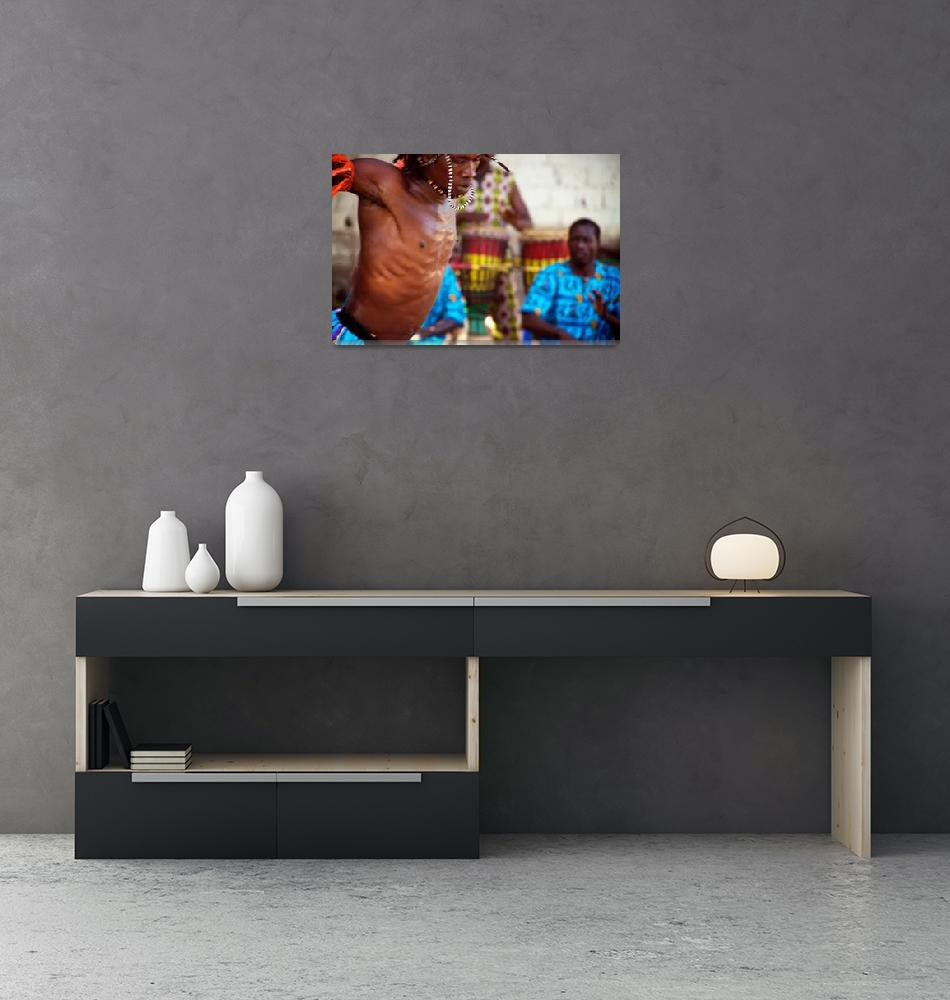 """Senegalese Dancer""  (2013) by SimonFenton"