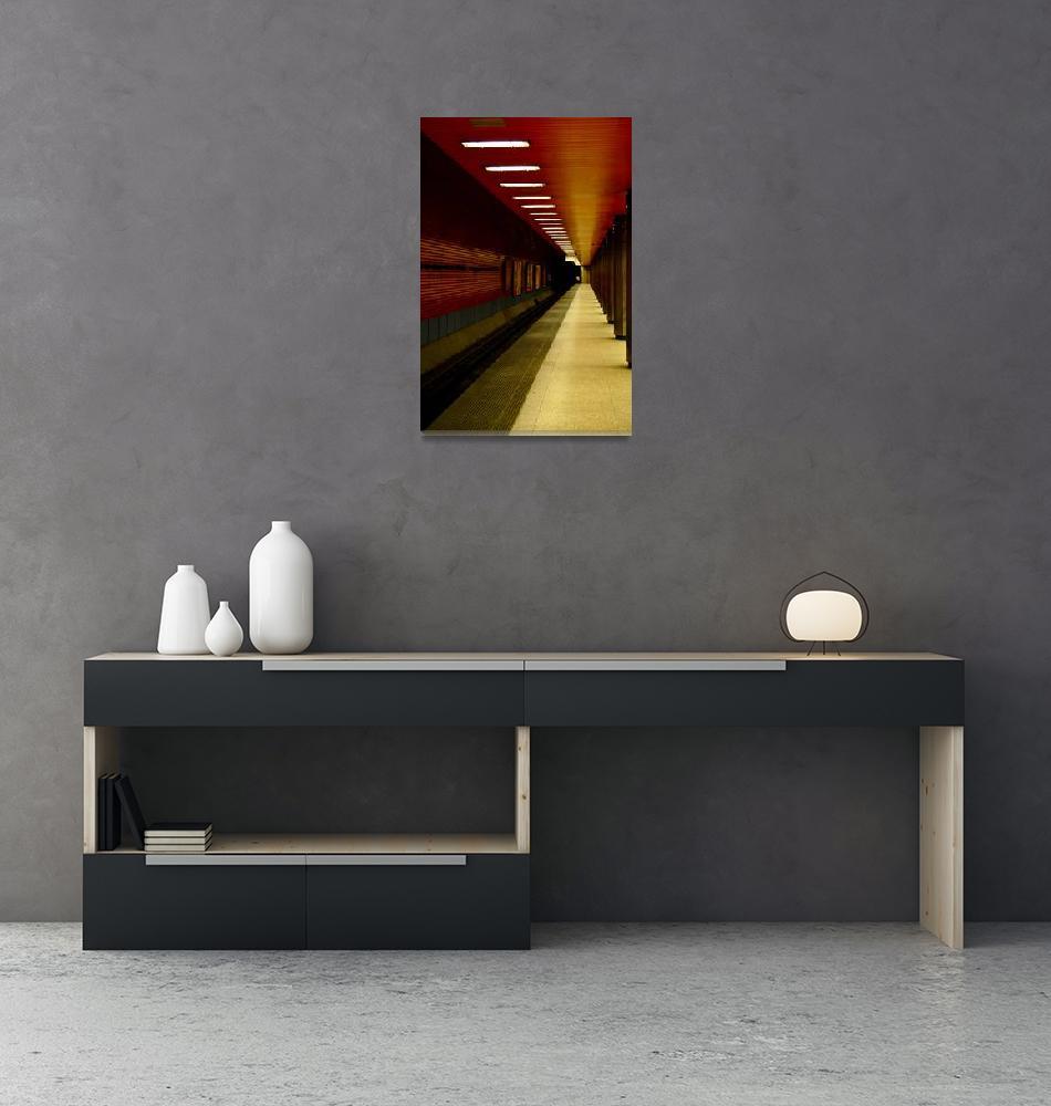 """Train Tunnel""  (2010) by najube"
