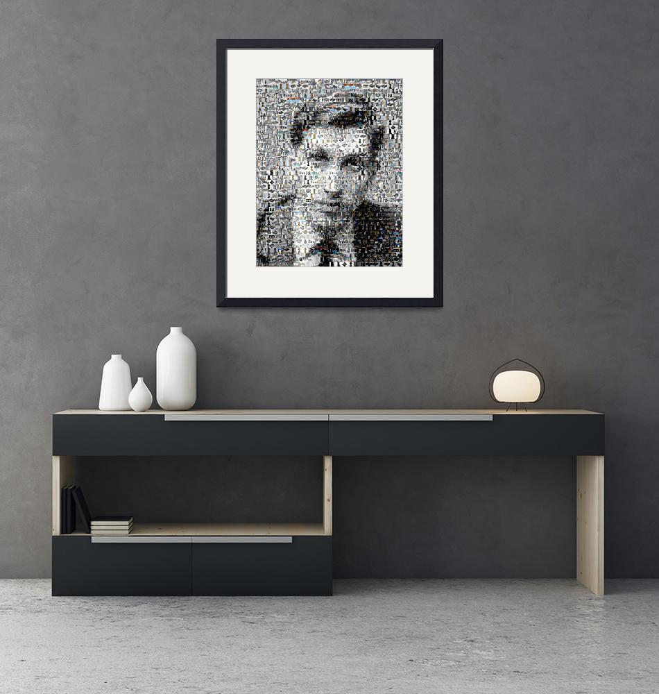 """""""Bobby Fischer CHESS Amazing Montage Mosaic MUST SE""""  (2009) by finalscore"""