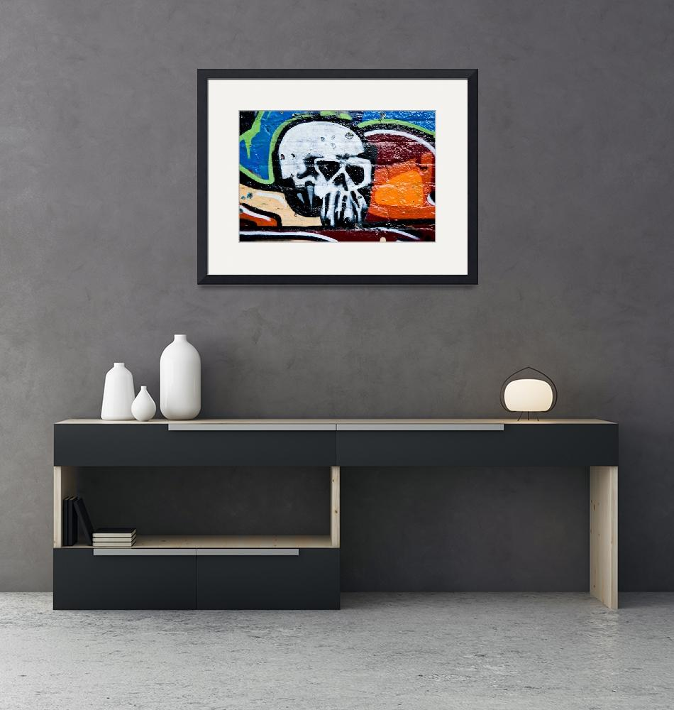 """""""Skull with Sunglasses""""  (2008) by yurix"""