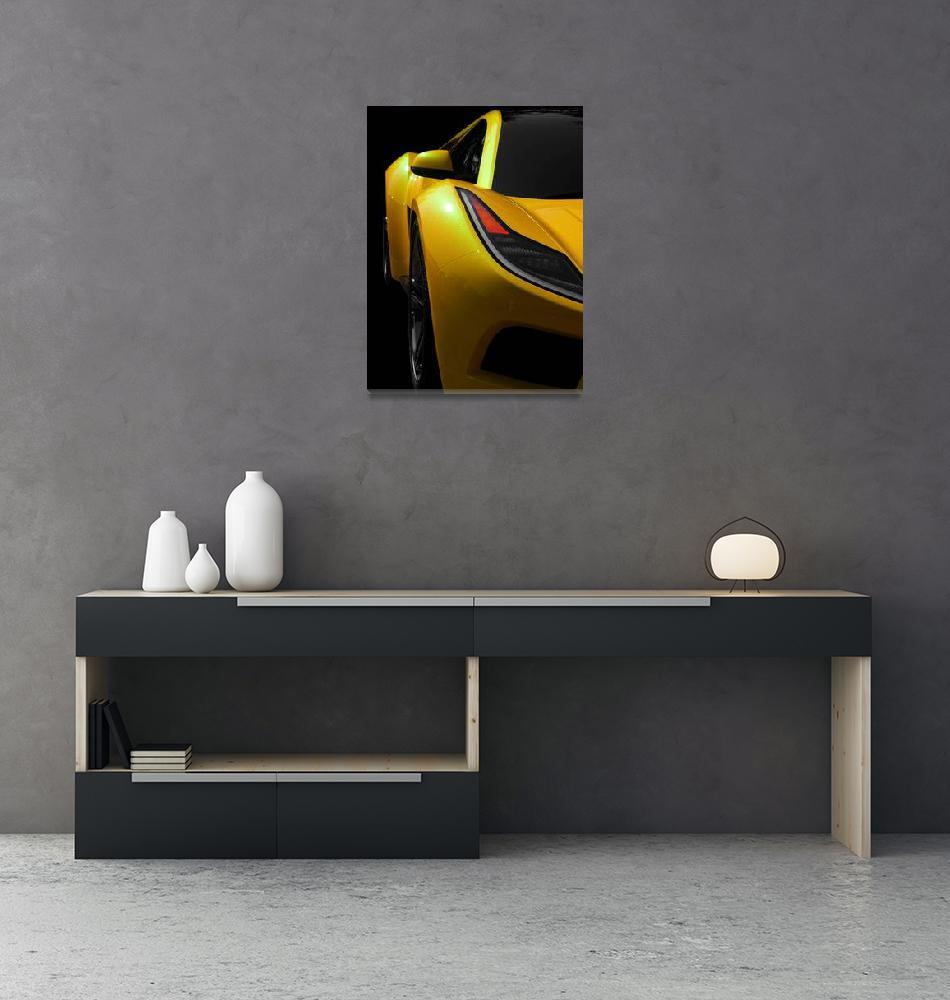 """Yellow Saleen S5S Raptor"" (2008) by JamesHowePhotography"