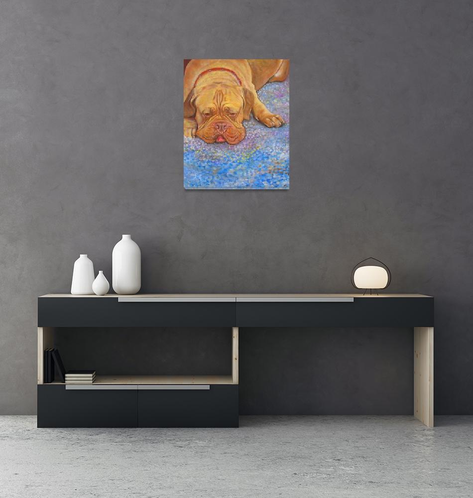 """""""Bordeaux Dog""""  (2006) by ArtPrints"""
