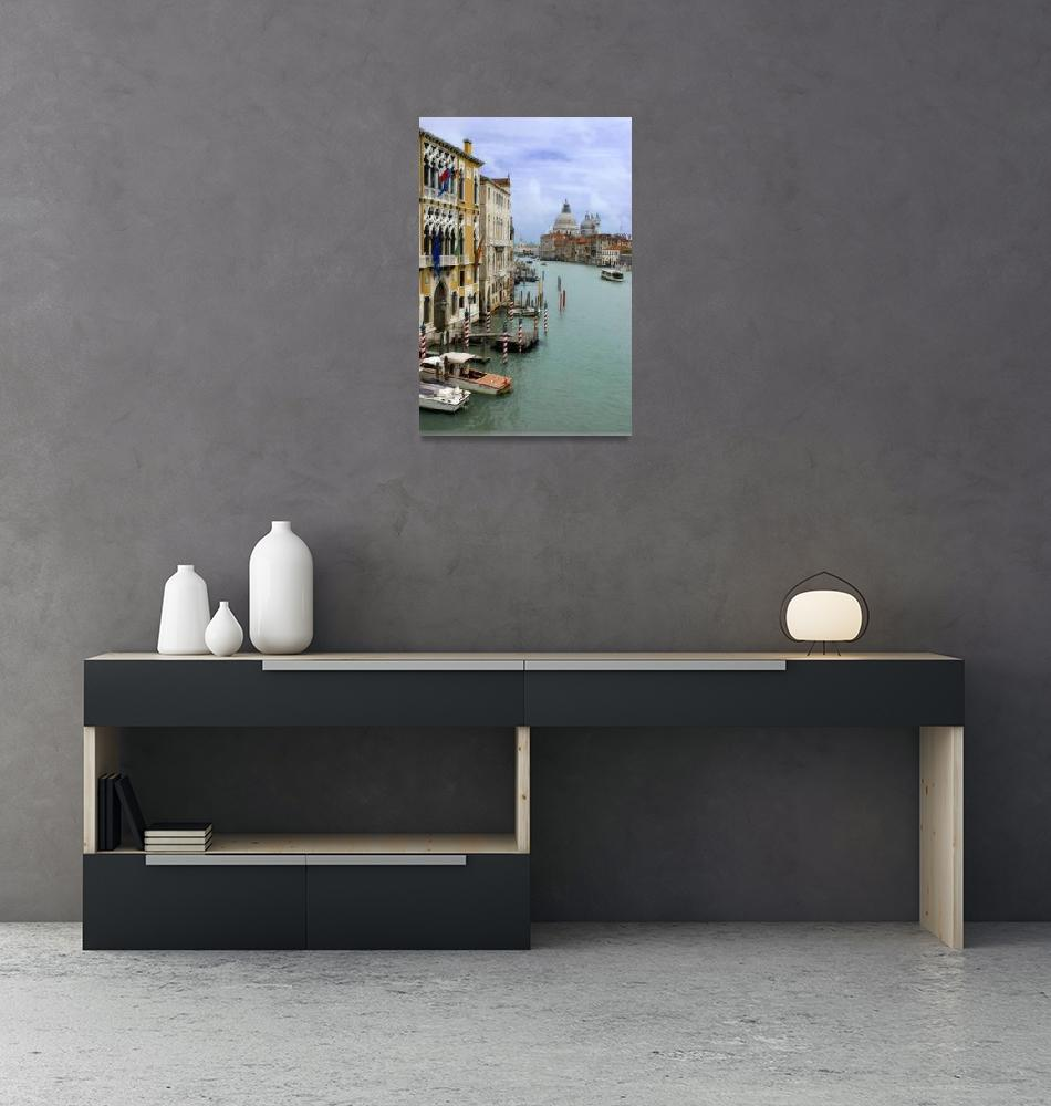 """""""Grand Canal, Venice""""  (2009) by Stephenknowles"""