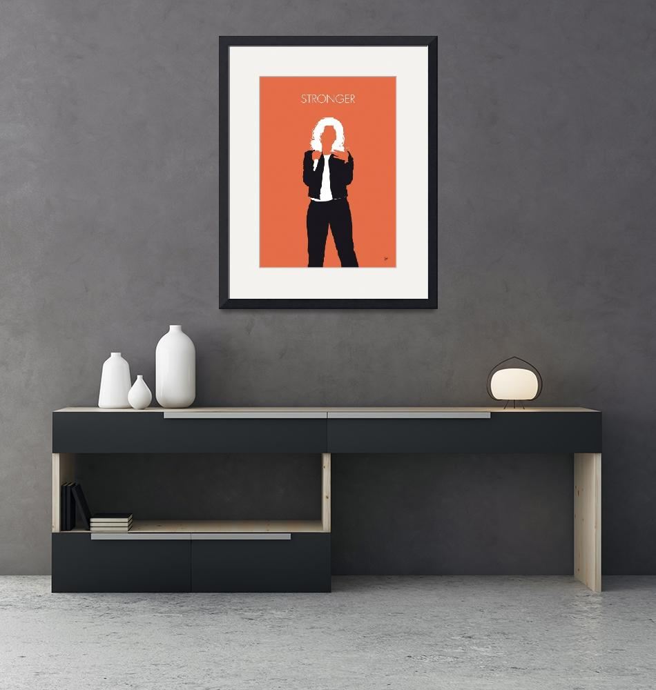 """""""No283 MY Kelly Clarkson Minimal Music poster""""  by Chungkong"""