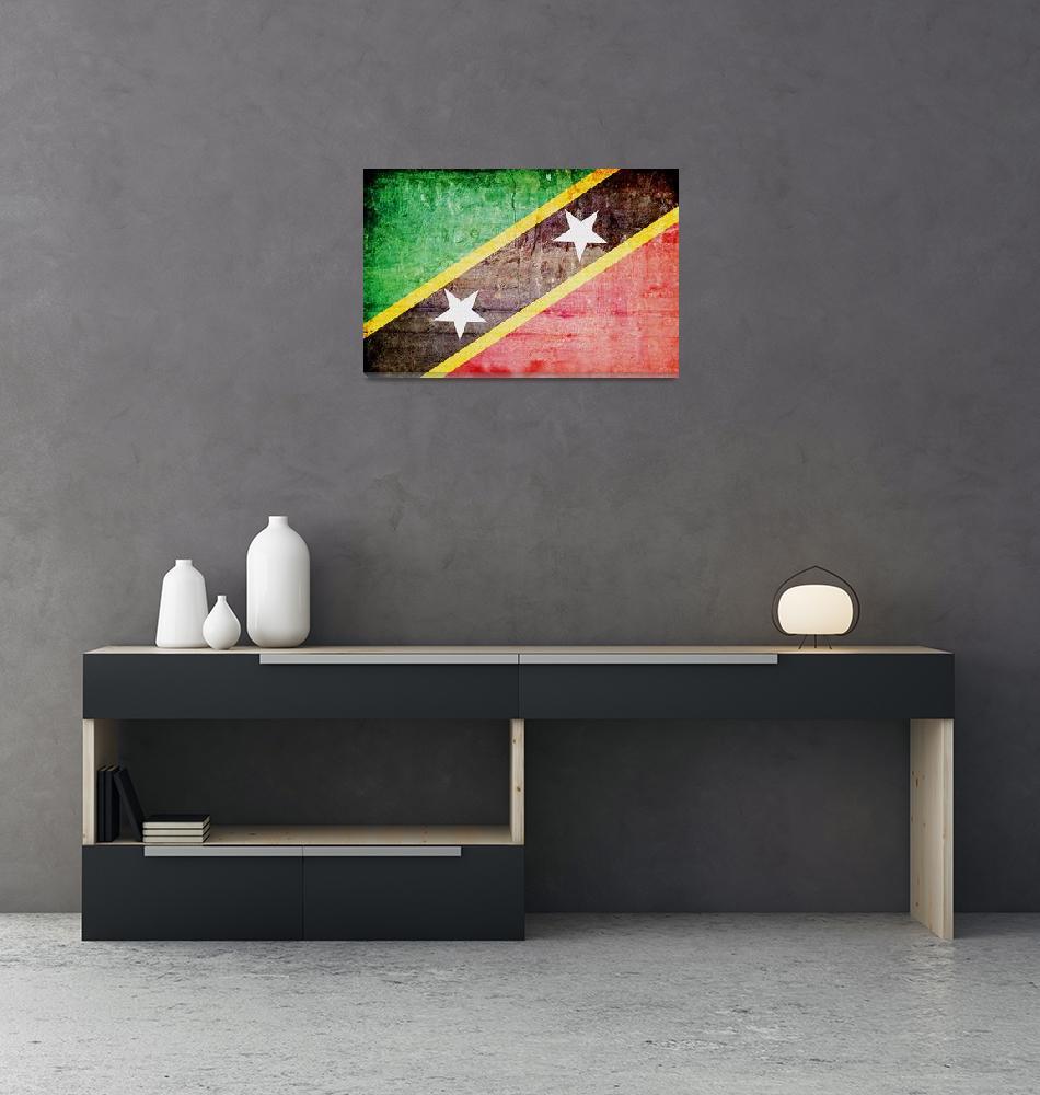 """Saint Kitts and Nevis-3""  (2014) by thegriffinpassant"