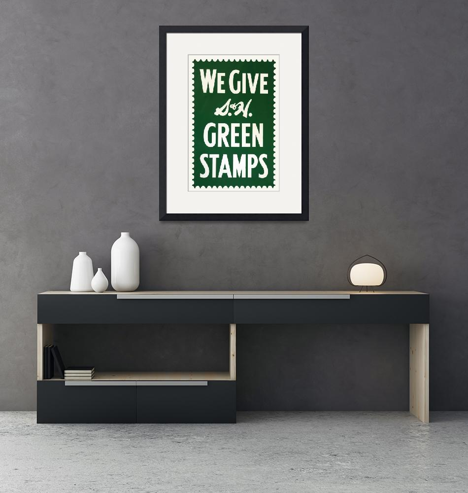 """Green Stamps""  (2013) by jameseddy"