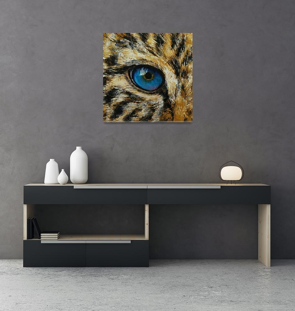 """Leopard Eye""  by creese"