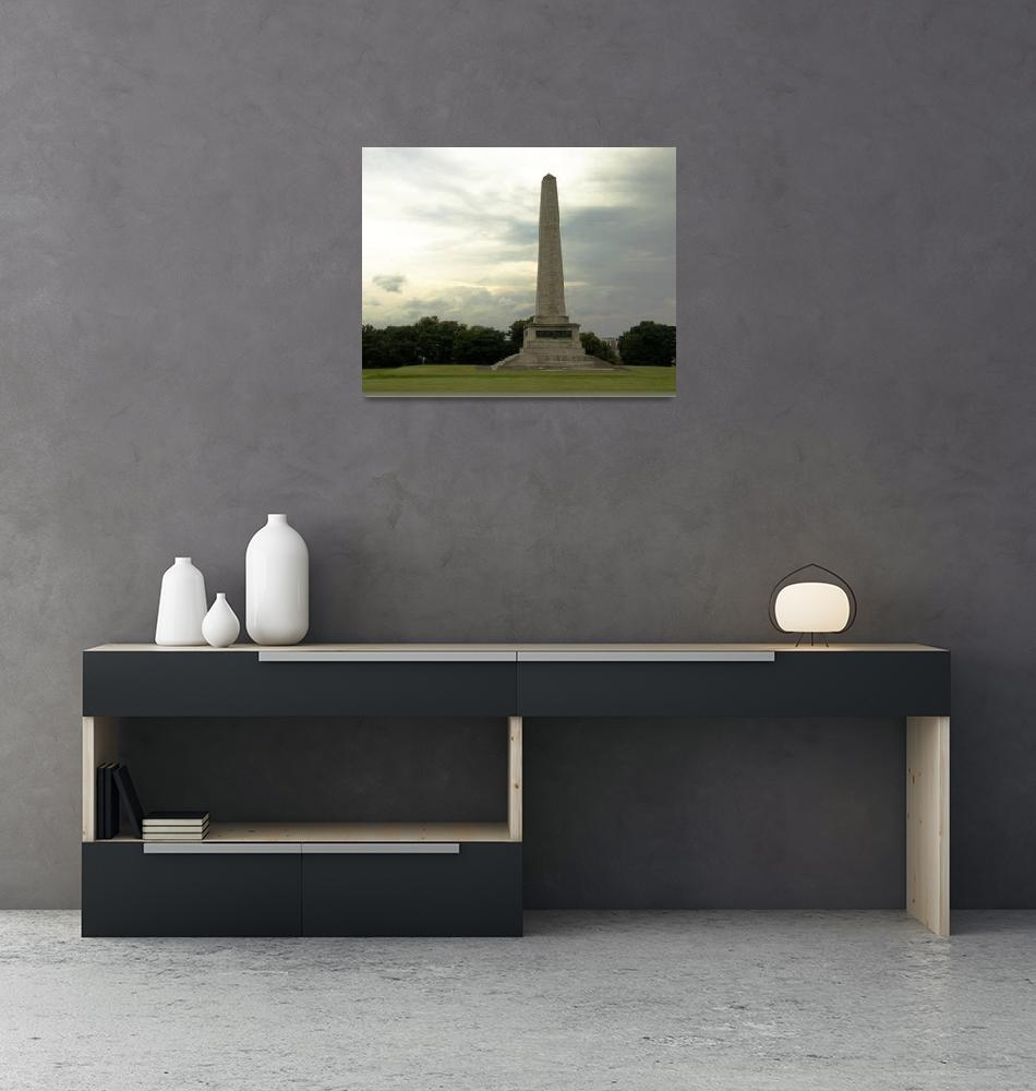 """""""Wellington Monument""""  (2014) by ValeriesGallery"""