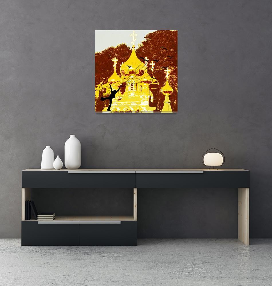 """Maria Magdalena Church""  (2010) by Design4uStudio"