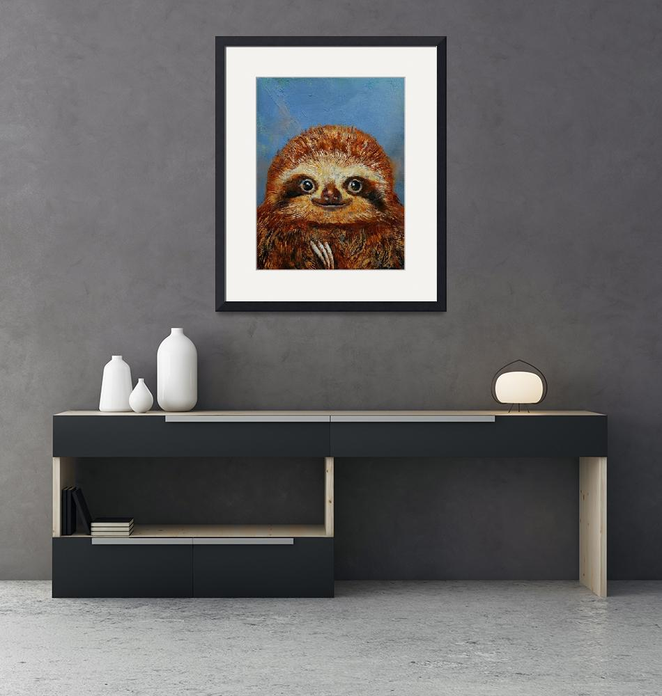 """""""Baby Sloth""""  by creese"""