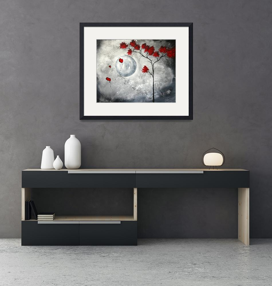 """""""""""far side of the moon"""" Original Painting""""  by meganduncanson"""