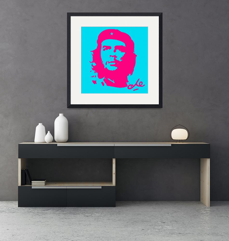 """Che Guevara Poster 9""  by motionage"