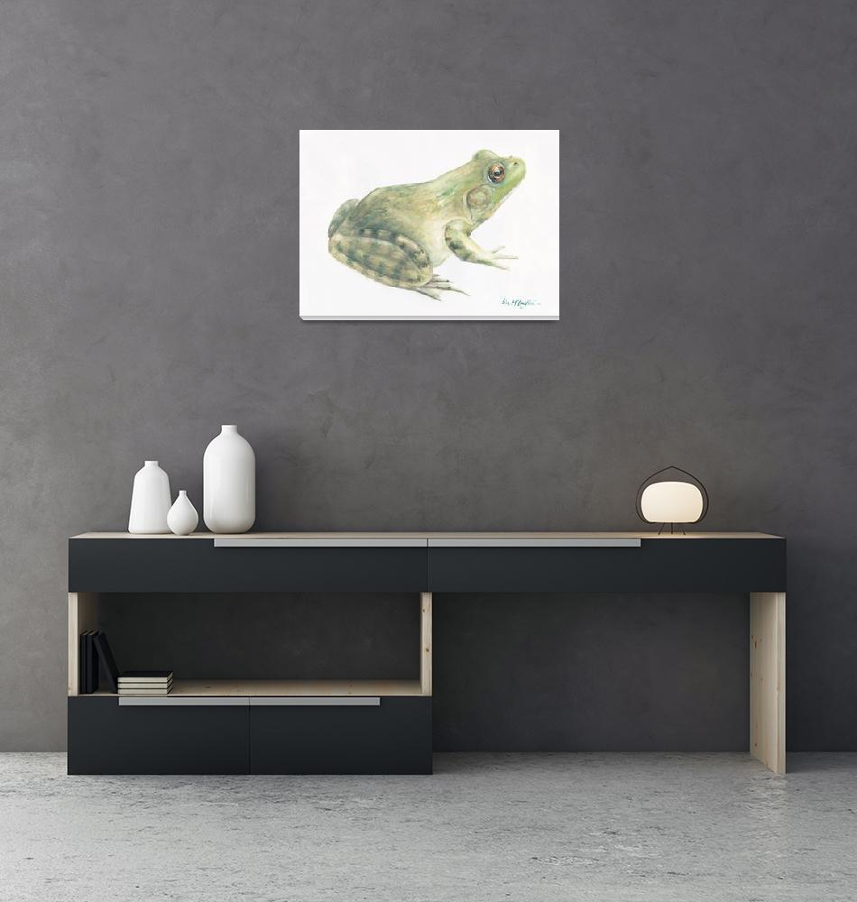 """""""bullfrog""""  (2006) by LisaMclaughlin"""