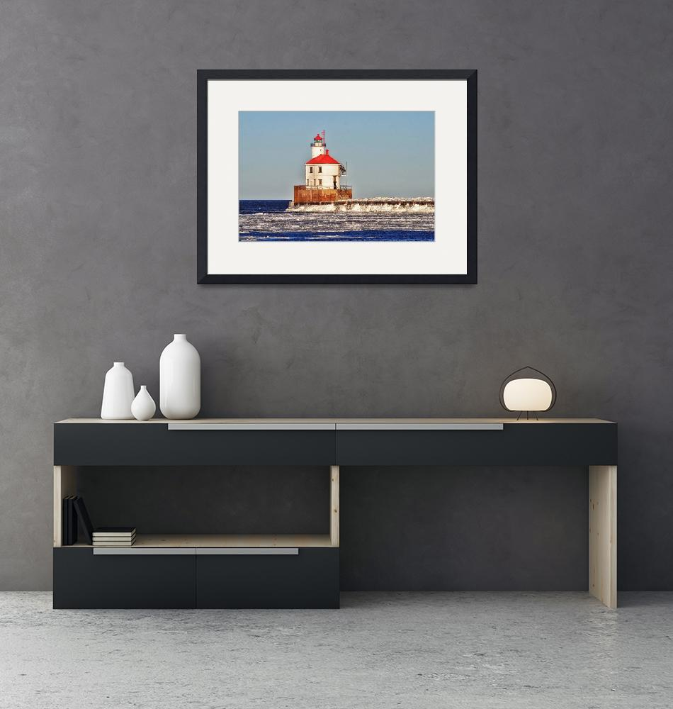 """""""Wisconsin Lighthouse""""  (2017) by LJdesigns"""