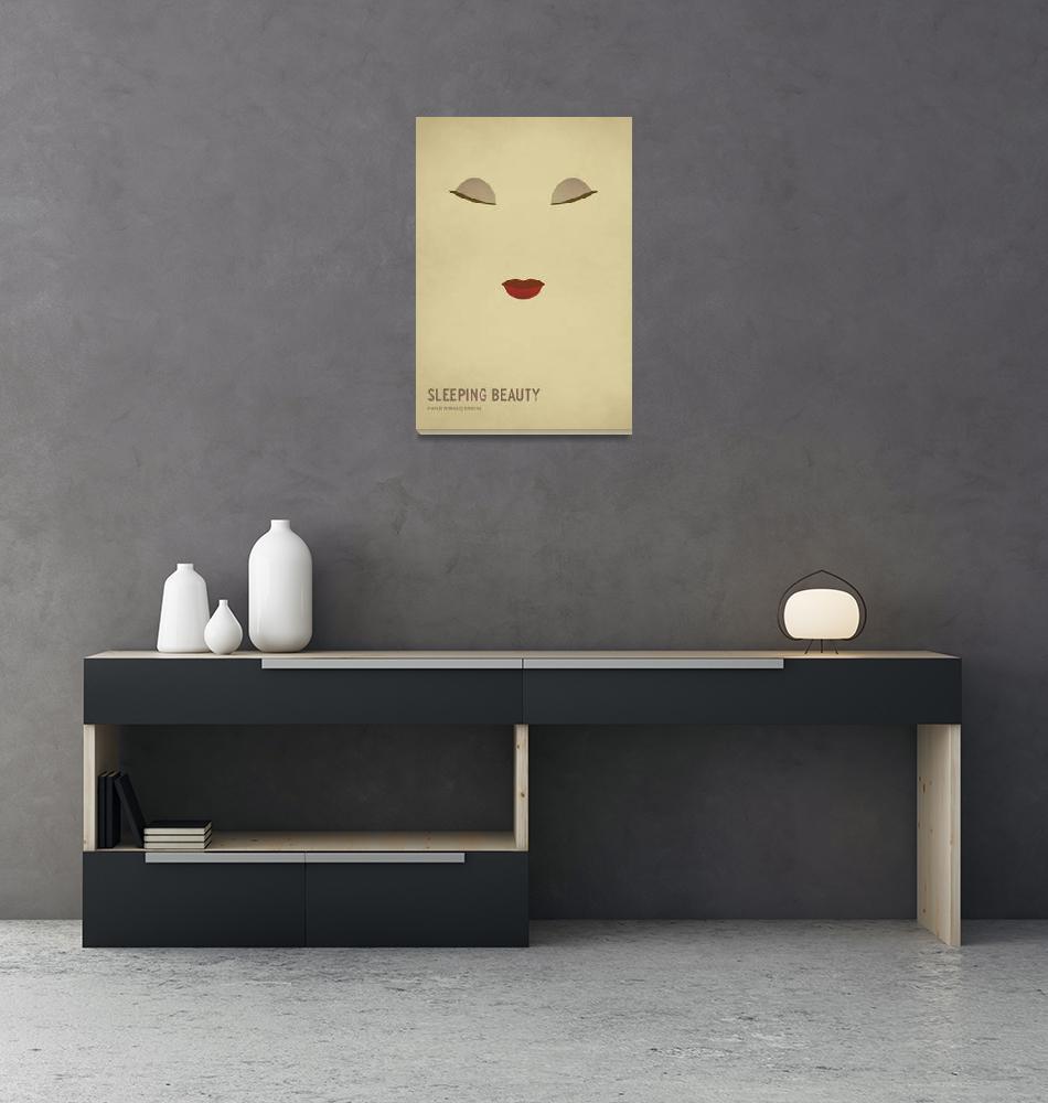 """Sleeping Beauty""  (2013) by squareinchdesign"