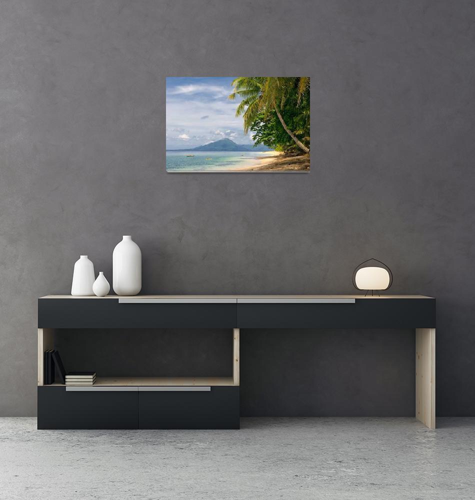 """""""tropical beach, banda islands, indonesia""""  (2008) by kalishko"""
