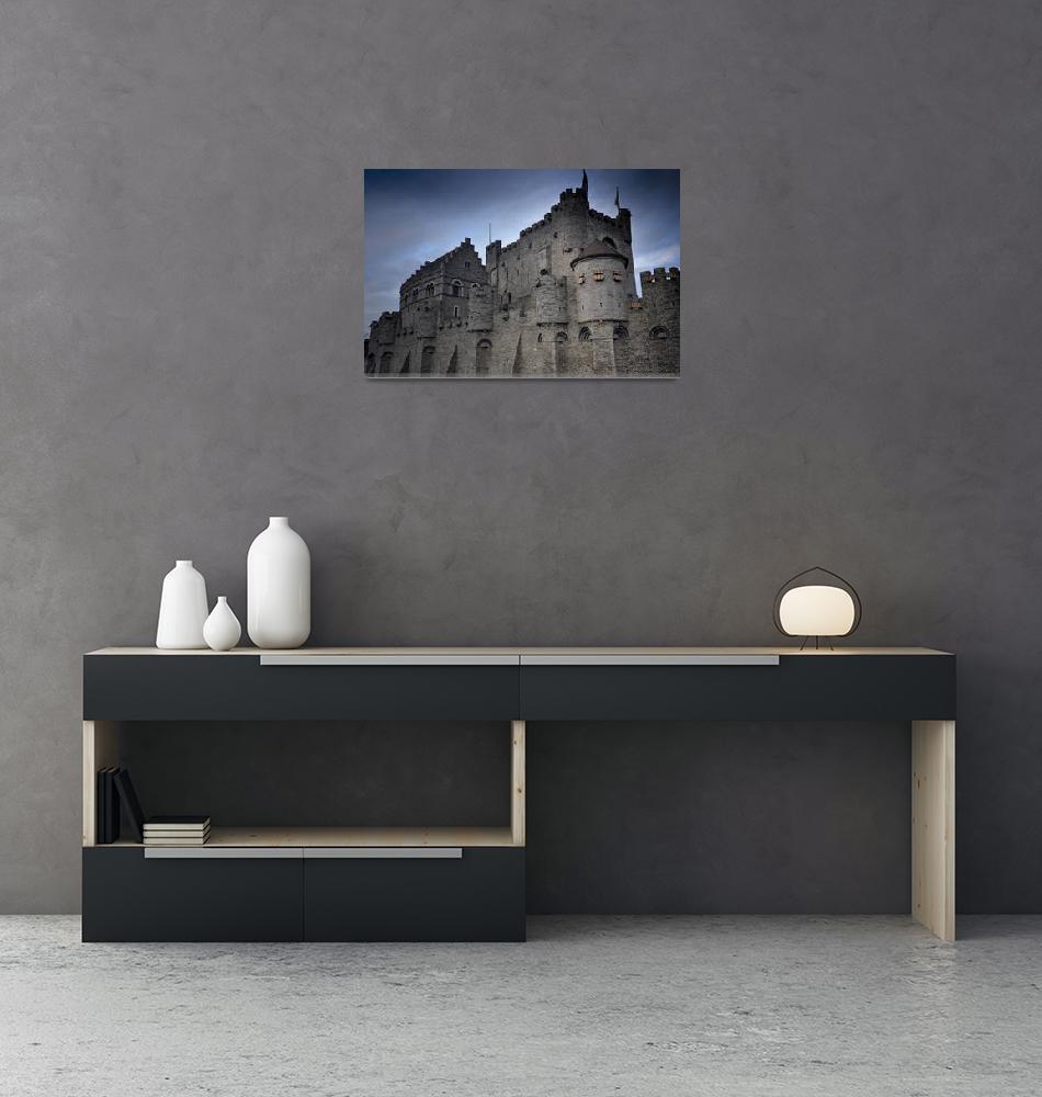 """""""Gravenstein Castle""""  (2010) by v-art"""