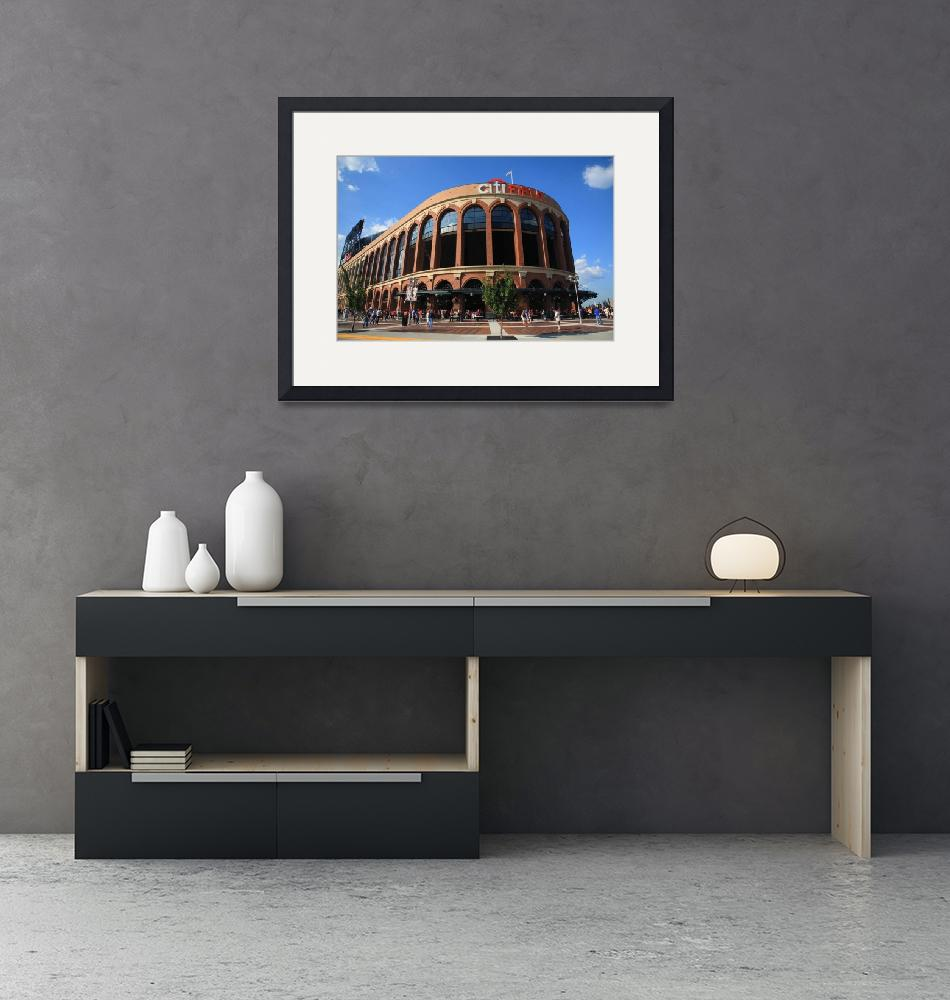 """Citi Field - New York Mets""  (2011) by Ffooter"