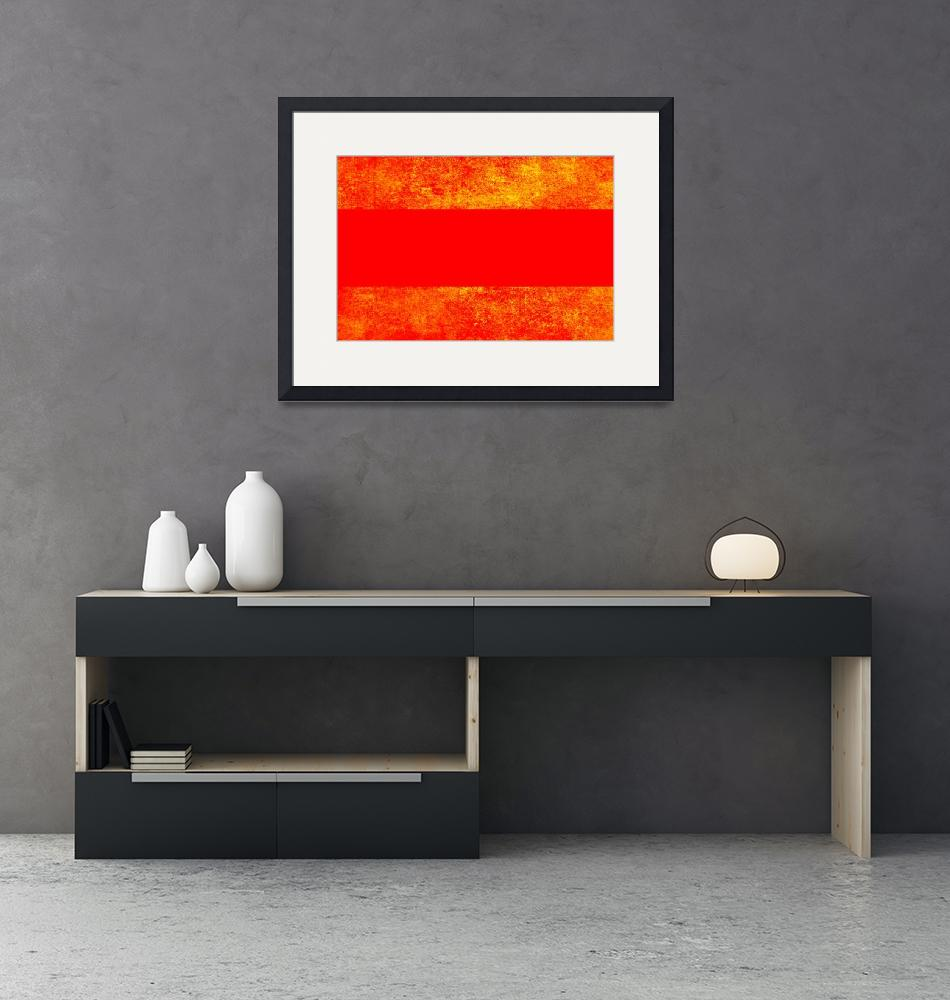 """""""Red and Orange""""  (2016) by cofiante"""
