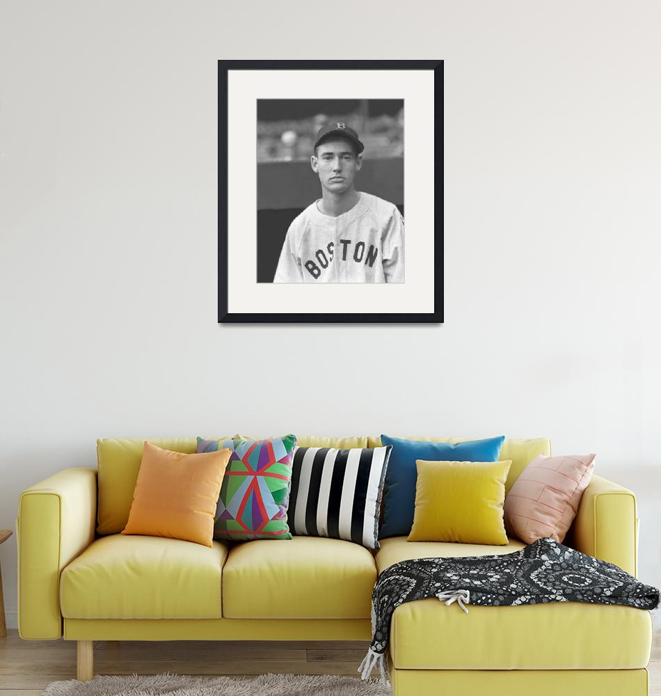 """""""Theodore S. Ted Williams""""  by RetroImagesArchive"""