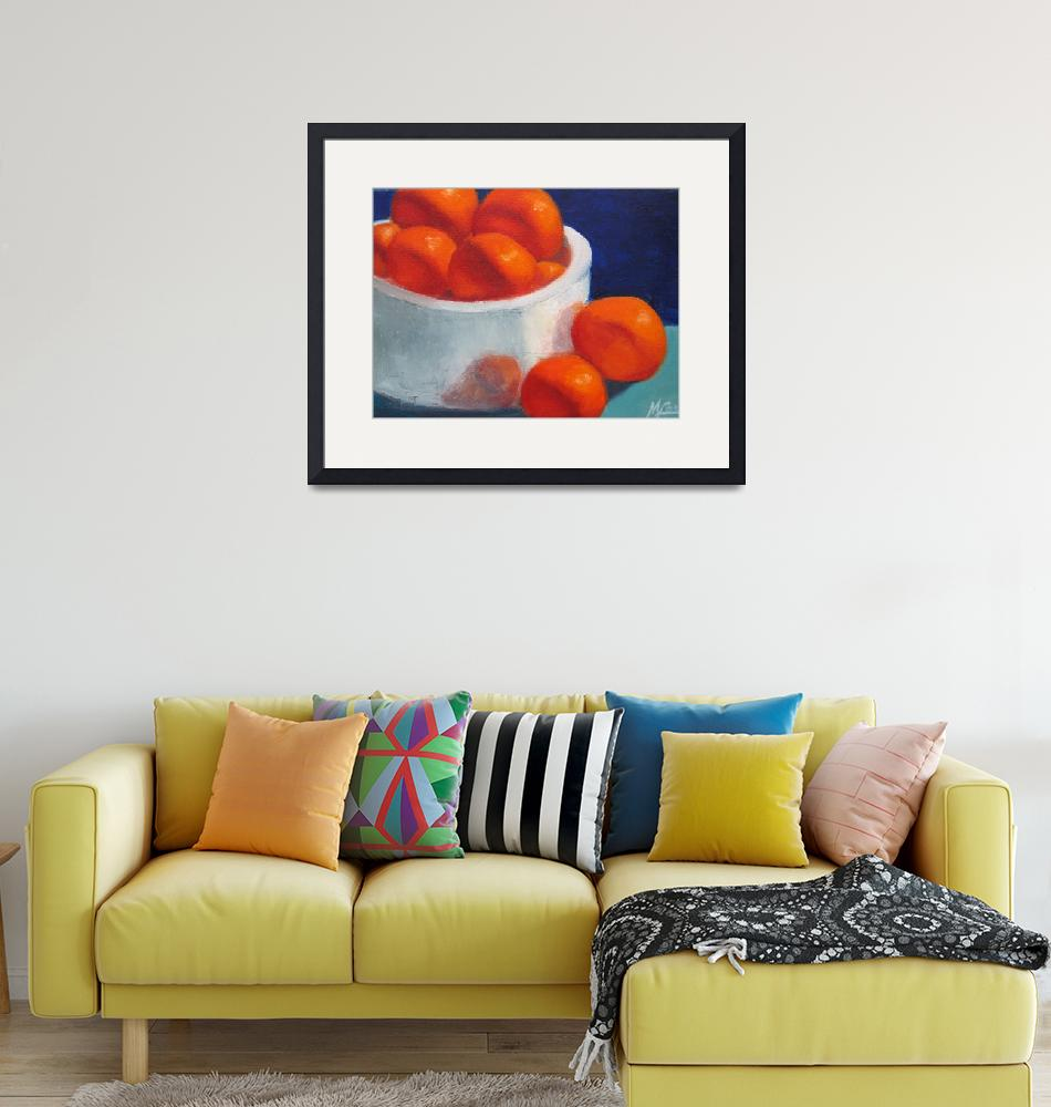 """""""Tangerines""""  by MaryLorArt"""