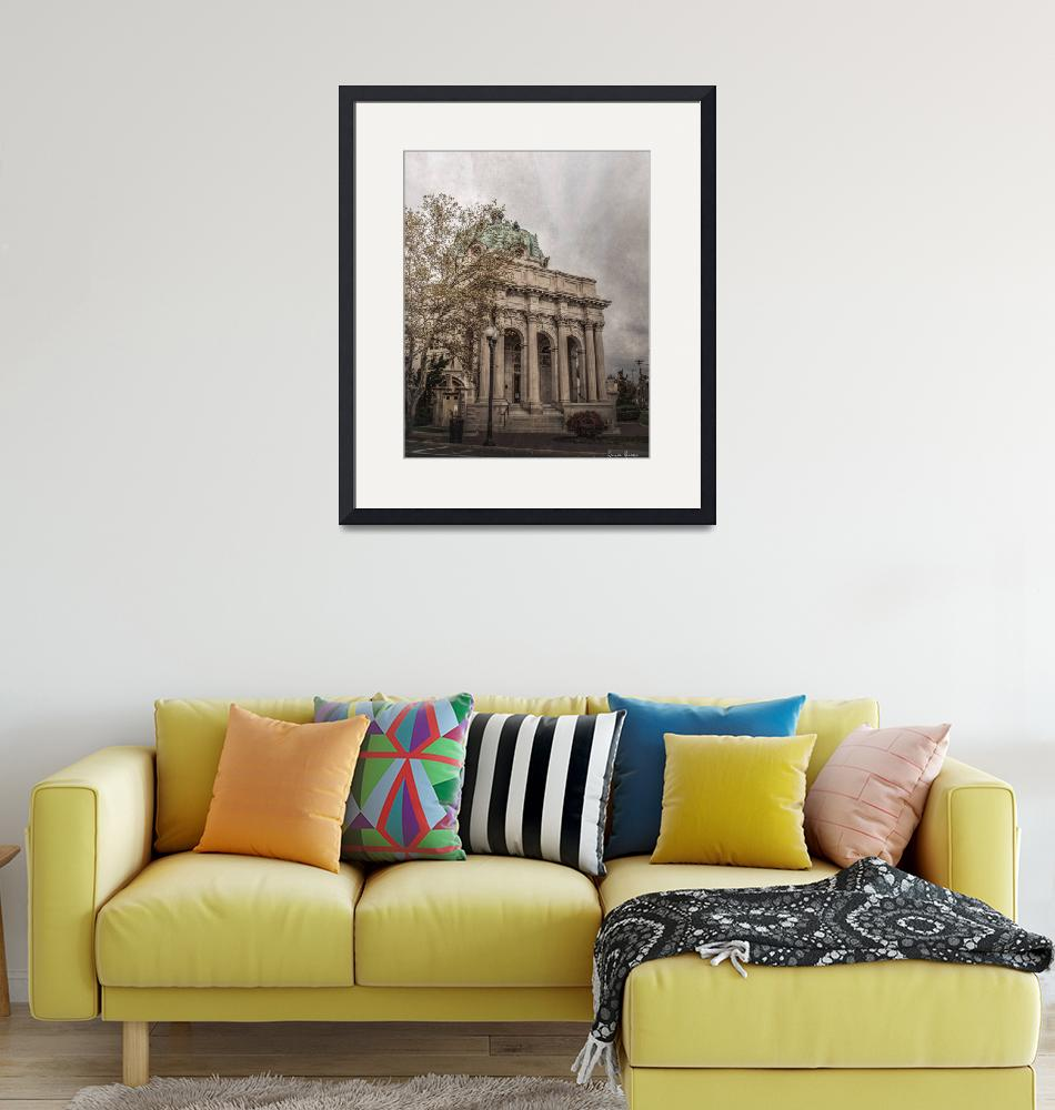 """""""Handley Library""""  (2019) by LouiseReeves"""