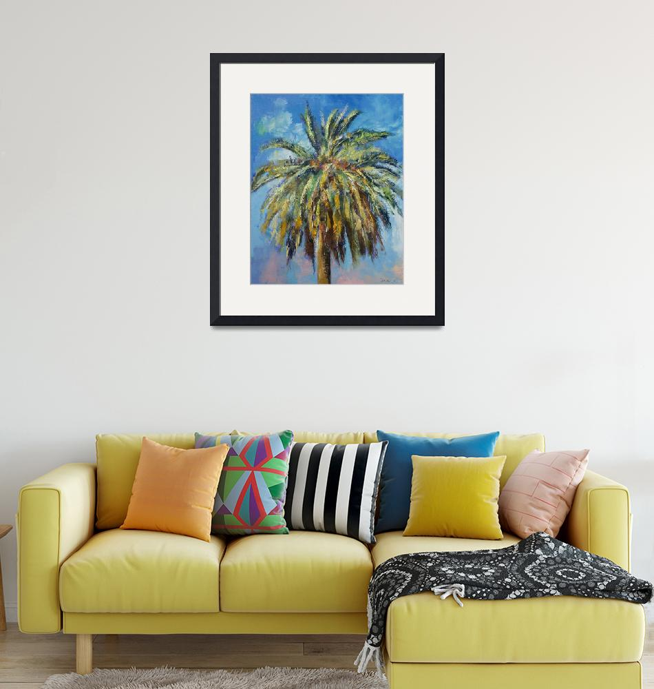 """""""Canary Island Date Palm"""" by creese"""