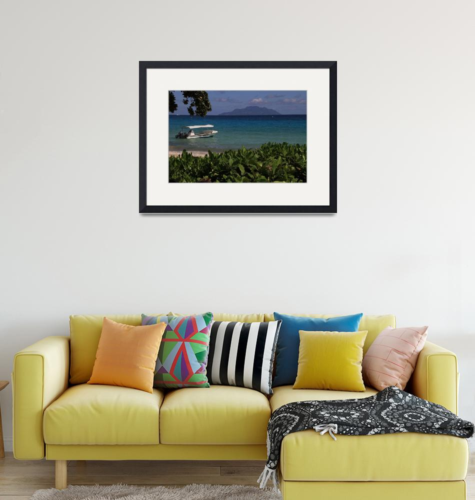 """""""View of Seychelles""""  (2011) by easyfigure"""