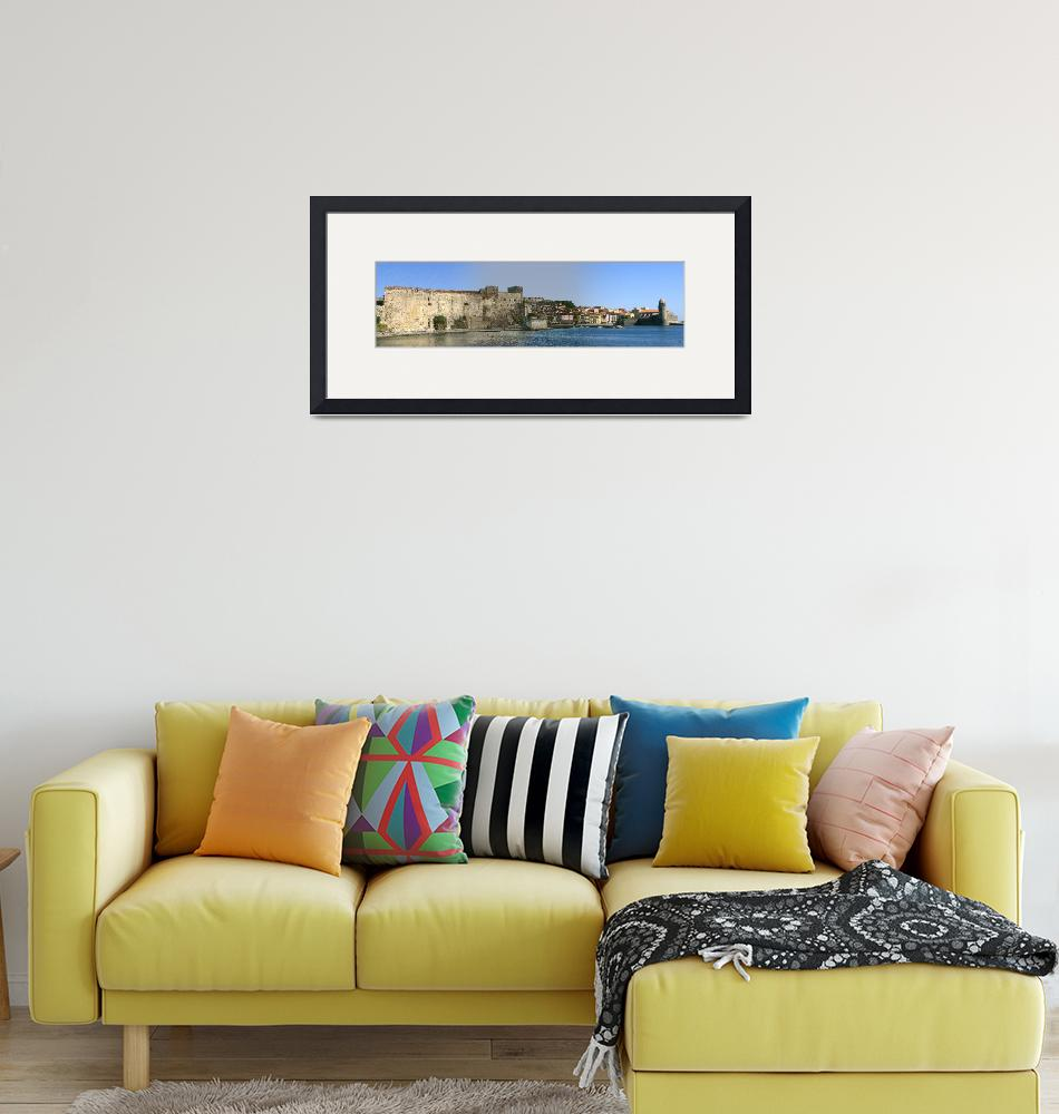 """""""Chateau Royal, Collioure, France.""""  (2010) by Snowman"""