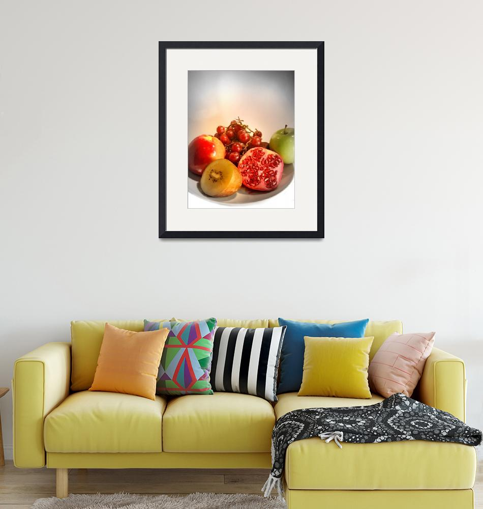 """""""Organic Fruits - Healthy Choice""""  (2009) by Charuhas"""