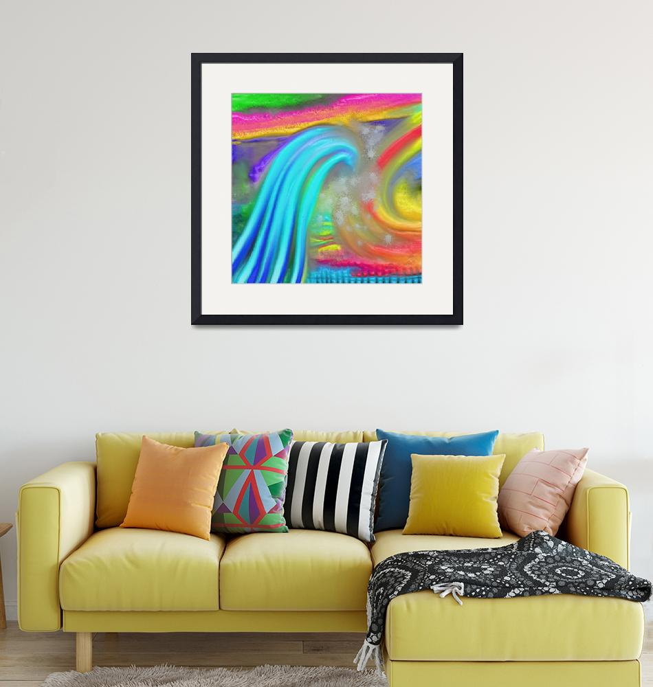 """""""Thick Paint Wave""""  by Prawny"""