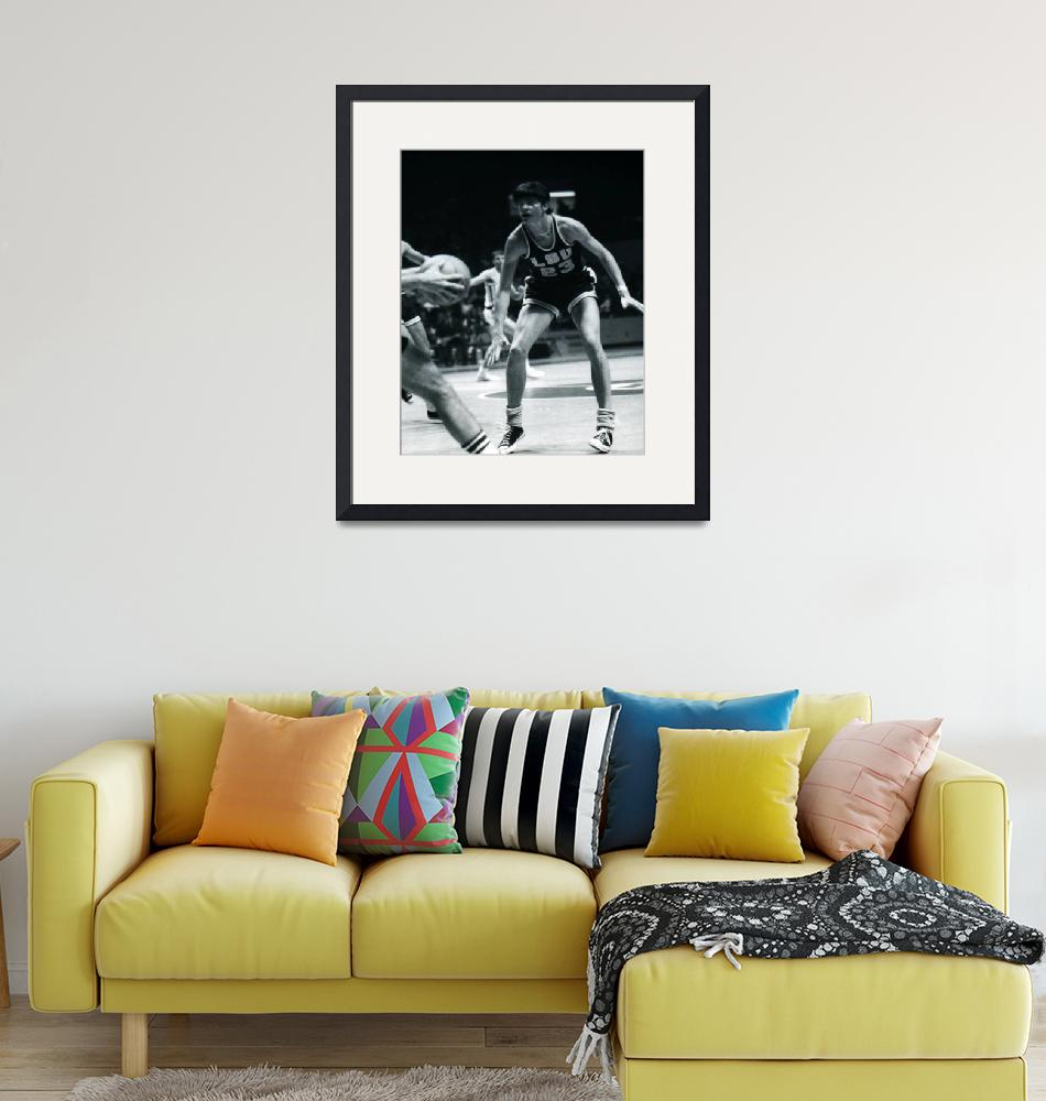 """""""Pete Maravich playing defense""""  by RetroImagesArchive"""