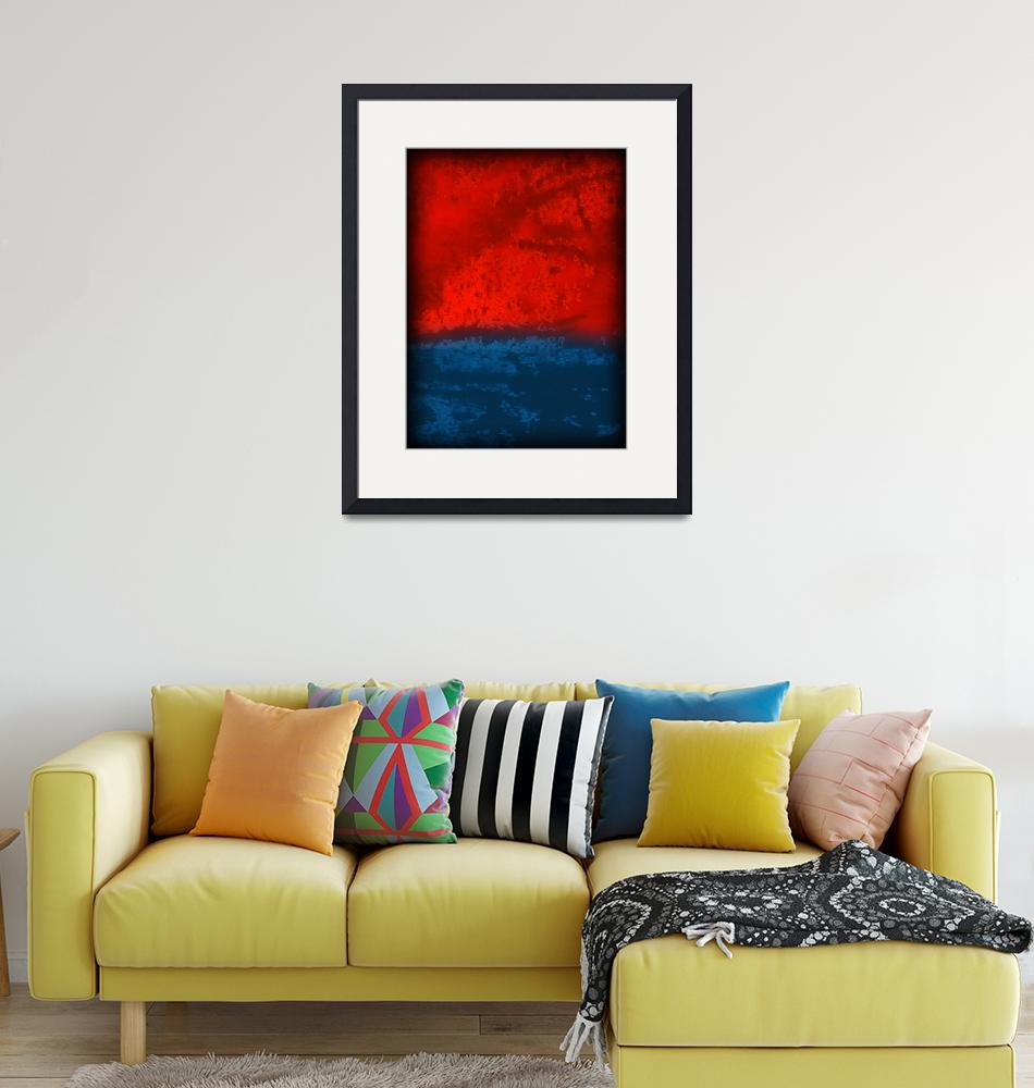 """""""red blue silver clouds 700""""  by ModernMarvel"""