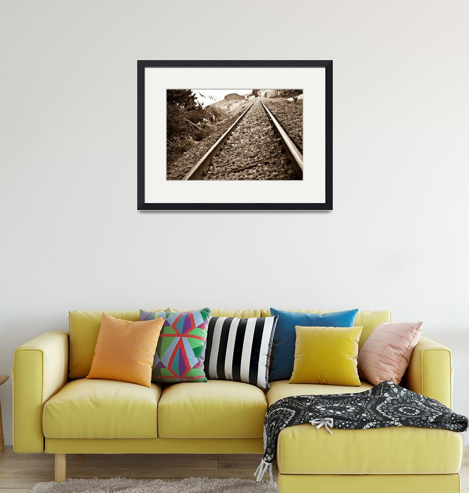 """""""Old Abandoned Railroad""""  (2009) by sardinelly"""