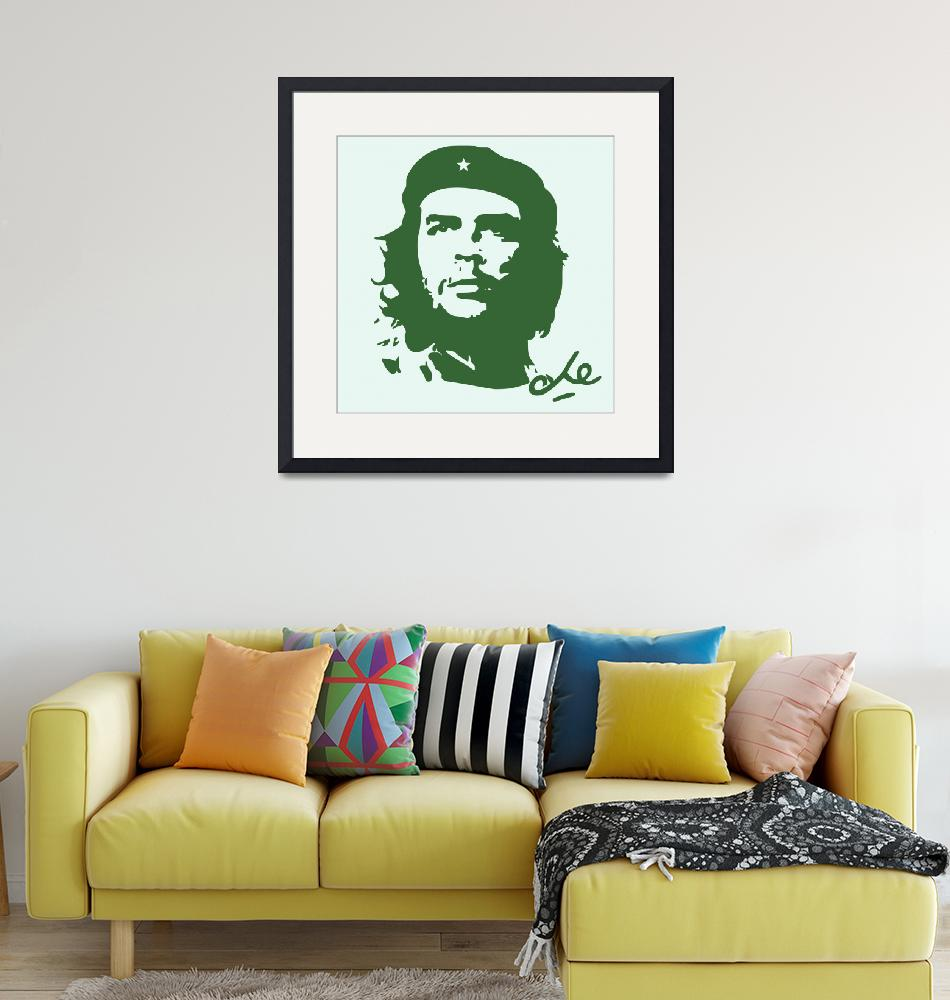 """""""Che Guevara Poster 5""""  by motionage"""