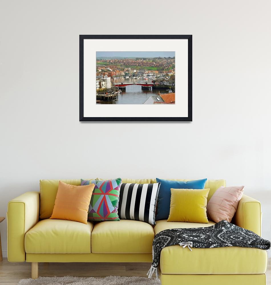 """""""Harbour View, Whitby""""  (2014) by rodjohnson"""