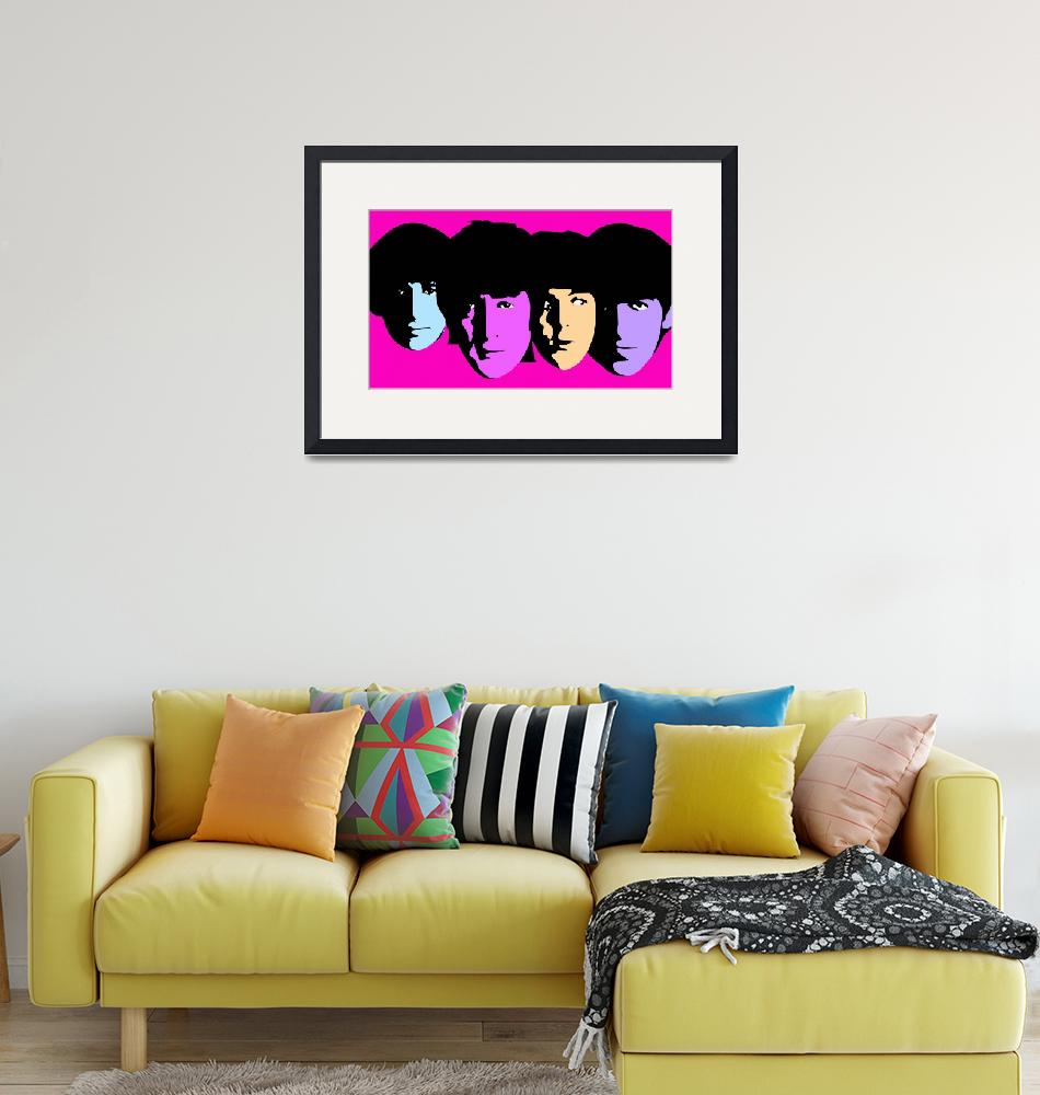 """Beatles""  (2009) by whitewallgallery"